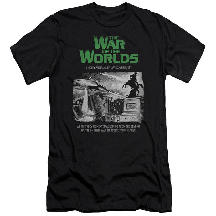 War Of The Worlds - Attack People Poster Short Sleeve Adult 30/1 Tee - Special Holiday Gift