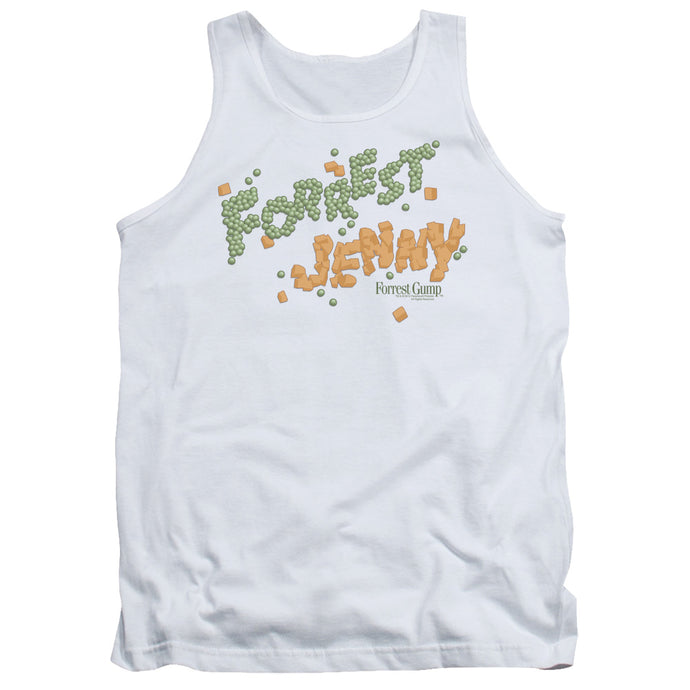 Forrest Gump - Peas And Carrots Adult Tank - Special Holiday Gift