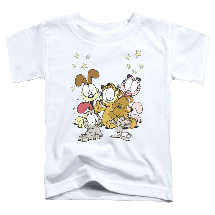Garfield - Friends Are Best Short Sleeve Toddler Tee - Special Holiday Gift