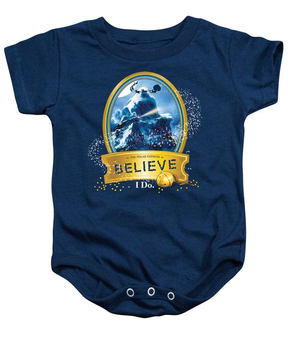 Polar Express - True Believer Infant Snapsuit - Special Holiday Gift
