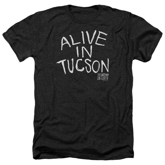 Last Man On Earth - Alive In Tucson Adult Heather - Special Holiday Gift