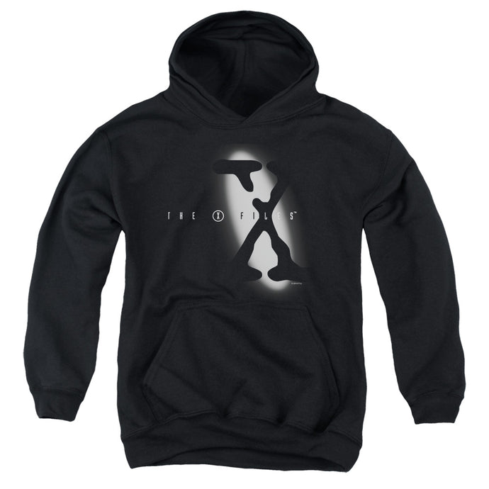X Files - Spotlight Logo Youth Pull Over Hoodie - Special Holiday Gift