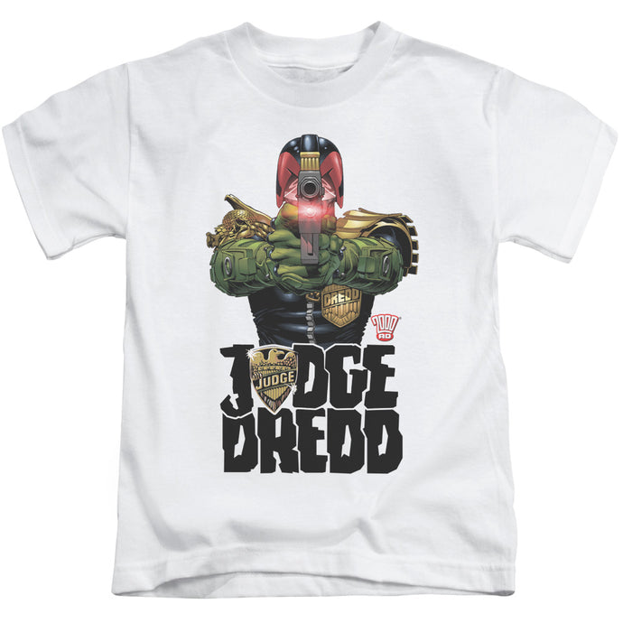 Judge Dredd - In My Sights Short Sleeve Juvenile 18/1 Tee - Special Holiday Gift