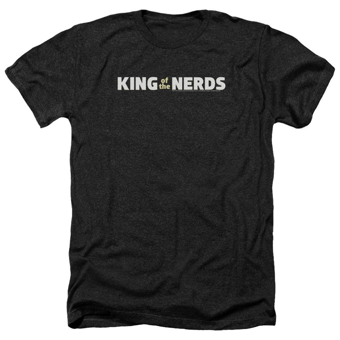 King Of The Nerds - Horizontal Logo Adult Heather - Special Holiday Gift