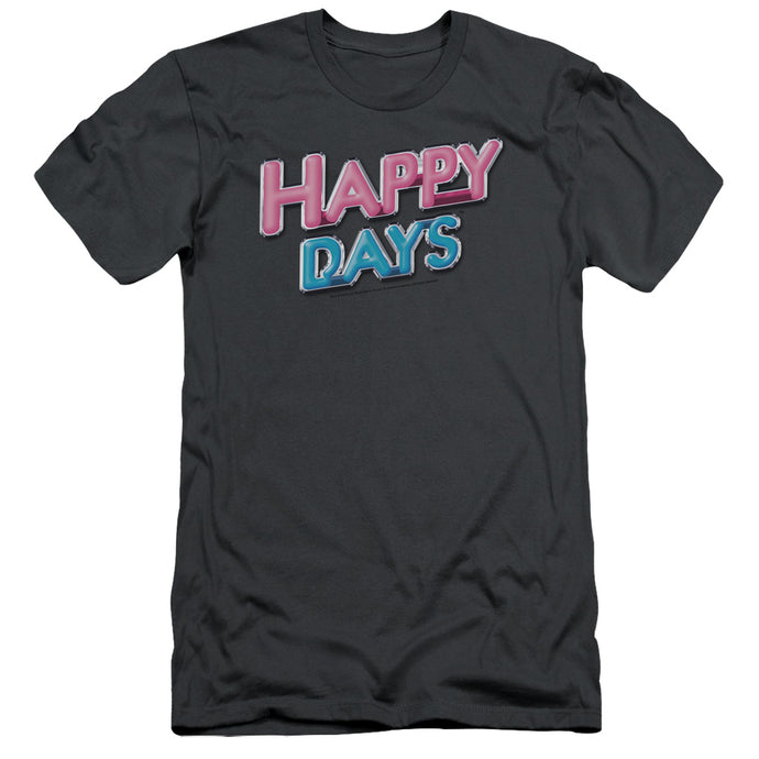 Happy Days - Happy Days Logo Short Sleeve Adult 30/1 Tee - Special Holiday Gift