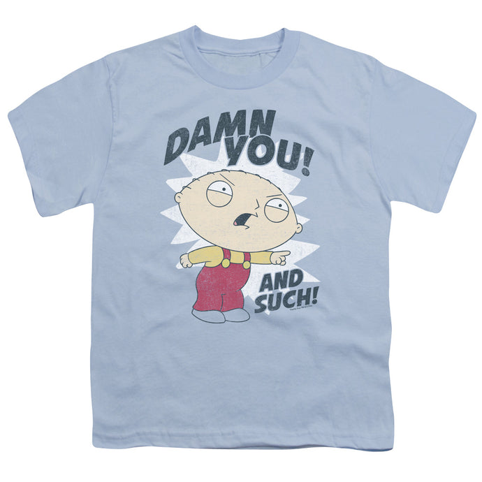 Family Guy - And Such Short Sleeve Youth 18/1 Tee - Special Holiday Gift