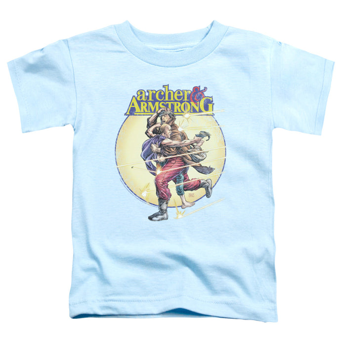 Archer & Armstrong - Vintage A & A Short Sleeve Toddler Tee - Special Holiday Gift