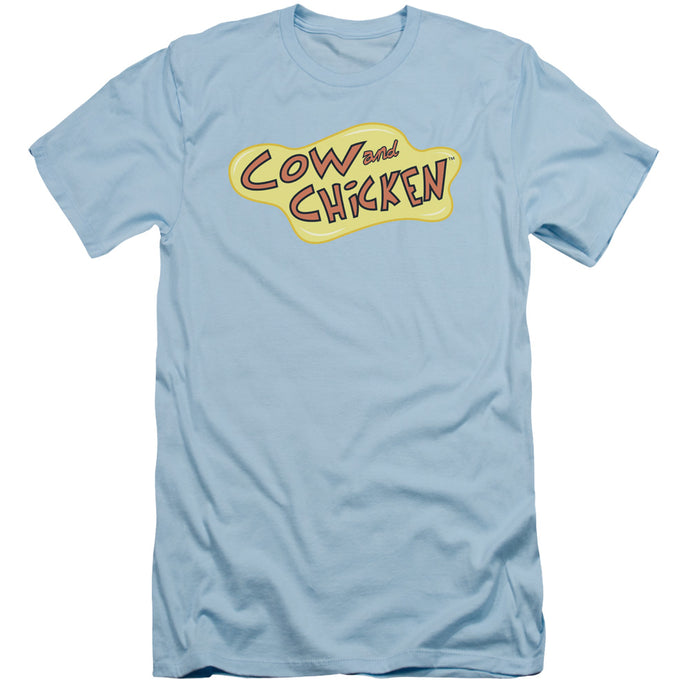 Cow And Chicken - Cow Chicken Logo Short Sleeve Adult 30/1 Tee - Special Holiday Gift