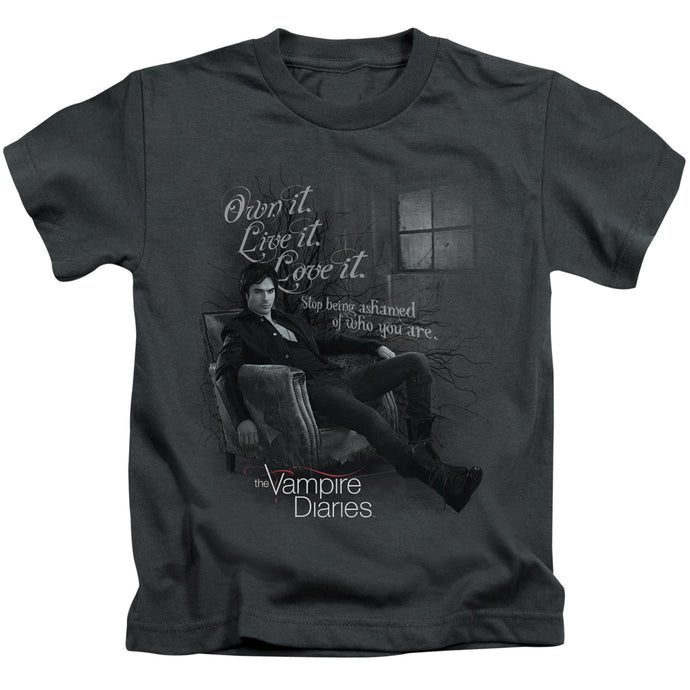 Vampire Diaries - Be Yourself Short Sleeve Juvenile 18/1 Tee - Special Holiday Gift