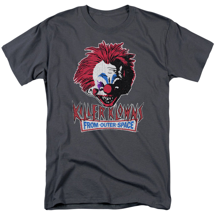 Killer Klowns From Outer Space - Rough Clown Short Sleeve Adult 18/1 Tee - Special Holiday Gift