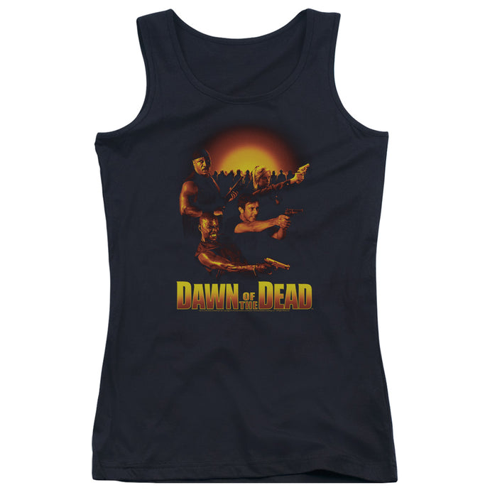 Dawn Of The Dead - Dawn Collage Juniors Tank Top - Special Holiday Gift
