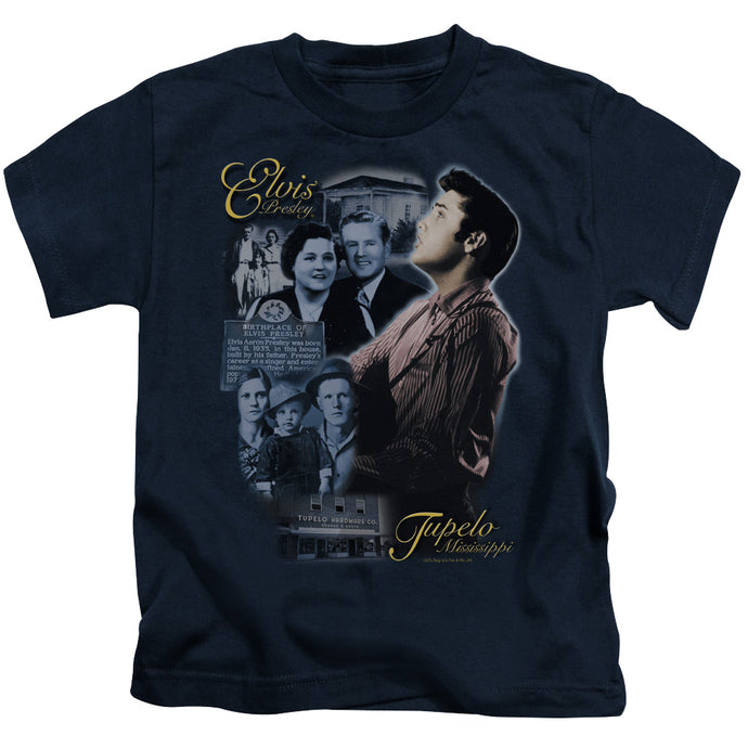 Elvis - Tupelo Short Sleeve Juvenile 18/1 Tee - Special Holiday Gift