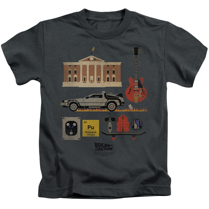 Back To The Future - Items Short Sleeve Juvenile 18/1 Tee - Special Holiday Gift