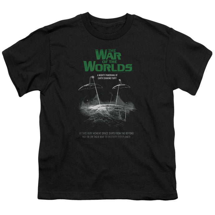 War Of The Worlds - Attack Poster Short Sleeve Youth 18/1 Tee - Special Holiday Gift
