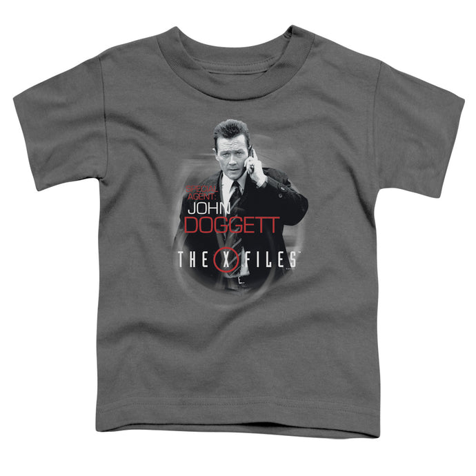X Files - Doggett Short Sleeve Toddler Tee - Special Holiday Gift