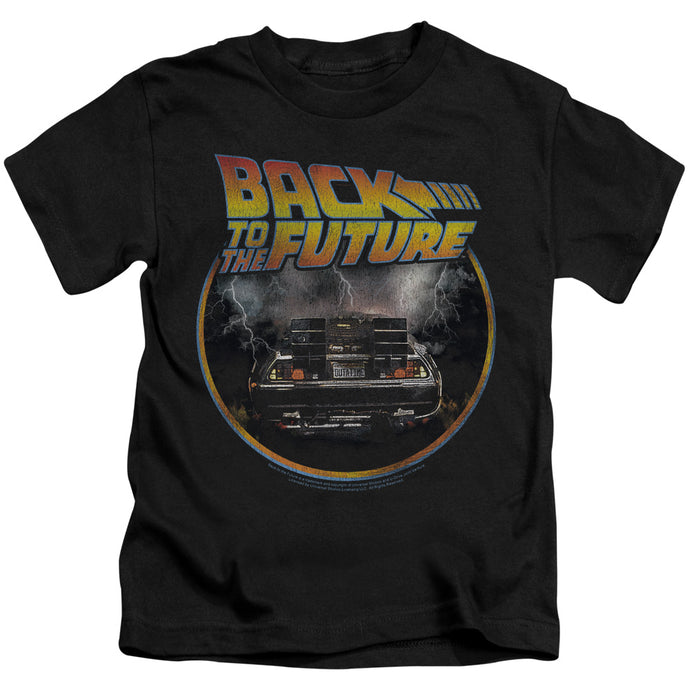 Back To The Future - Back Short Sleeve Juvenile 18/1 Tee - Special Holiday Gift