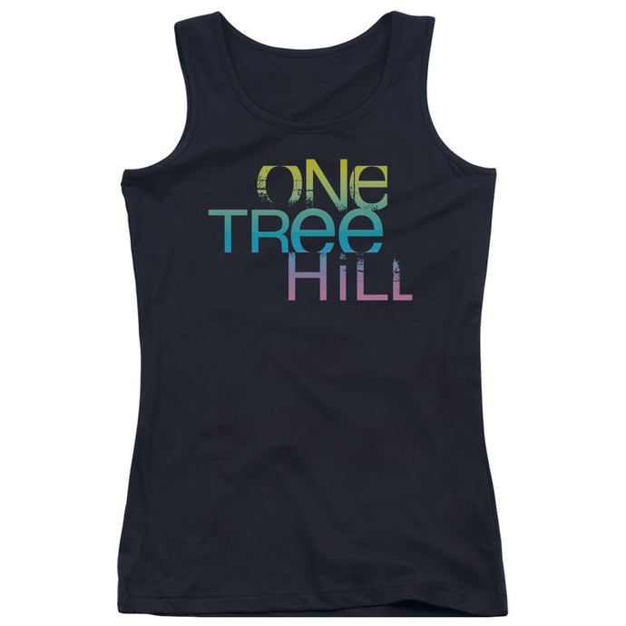 One Tree Hill - Color Blend Logo Juniors Tank Top - Special Holiday Gift