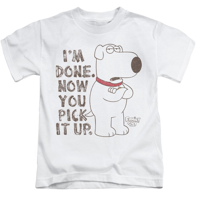 Family Guy - Pick It Up Short Sleeve Juvenile 18/1 Tee - Special Holiday Gift