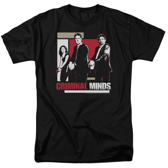 Criminal Minds - Guns Drawn Short Sleeve Adult 18/1 Tee - Special Holiday Gift