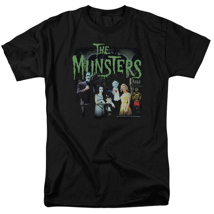 The Munsters - 1313 50 Years Short Sleeve Adult 18/1 Tee - Special Holiday Gift