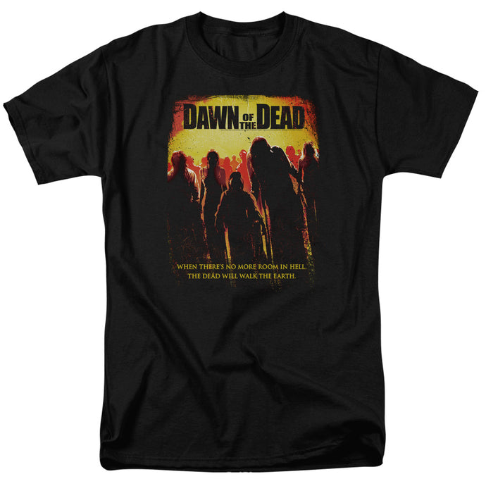 Dawn Of The Dead - Title Short Sleeve Adult 18/1 Tee - Special Holiday Gift