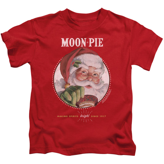 Moon Pie - Snacks For Santa Short Sleeve Juvenile 18/1 Tee - Special Holiday Gift