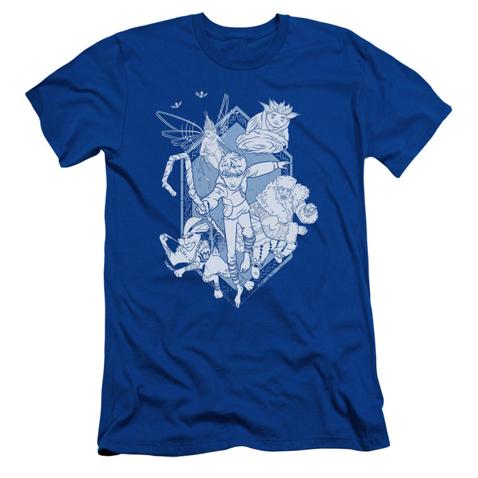 Rise Of The Guardians - Coming For You Short Sleeve Adult 30/1 Tee - Special Holiday Gift