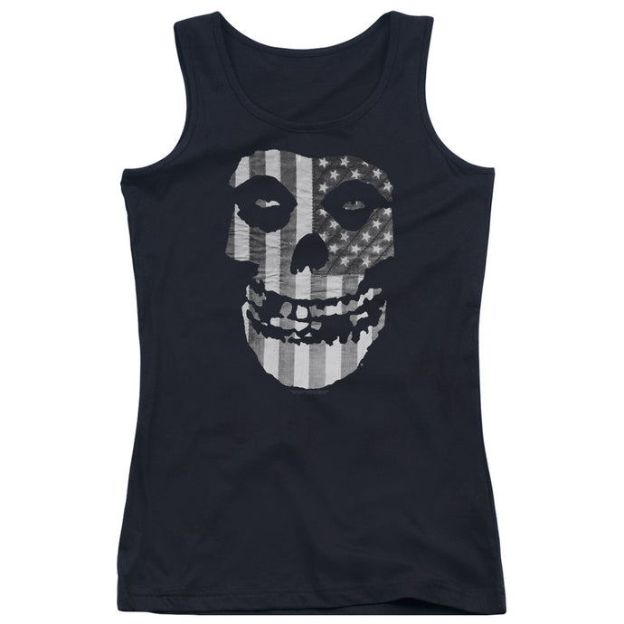 Misfits - Fiend Flag Juniors Tank Top - Special Holiday Gift
