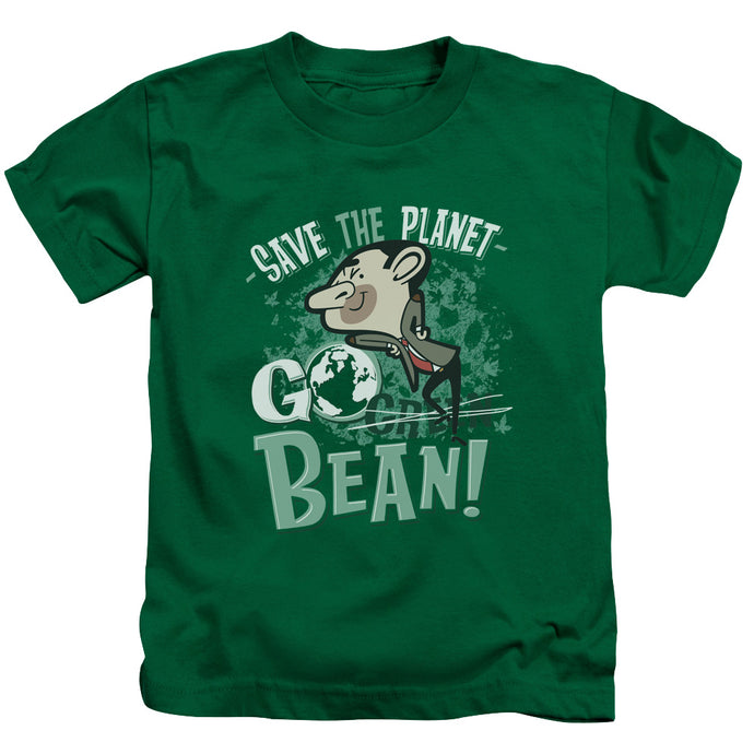 Mr Bean - Go Bean Short Sleeve Juvenile 18/1 Tee - Special Holiday Gift