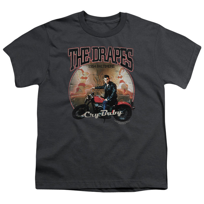 Cry Baby - Drapes Short Sleeve Youth 18/1 Tee - Special Holiday Gift