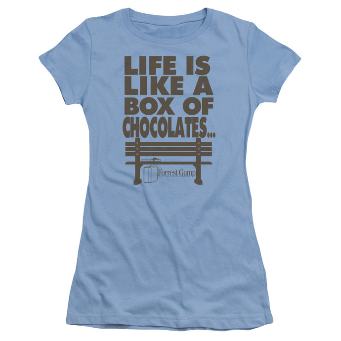 Forrest Gump - Life Short Sleeve Junior Sheer - Special Holiday Gift