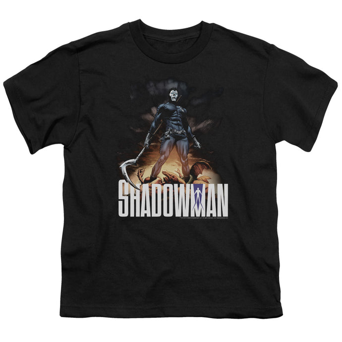 Shadowman - Shadow Victory Short Sleeve Youth 18/1 Tee - Special Holiday Gift