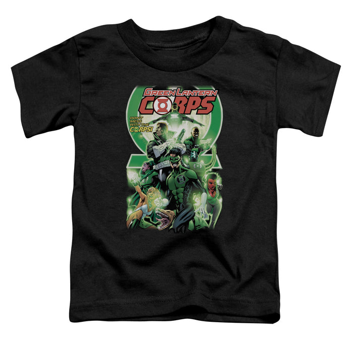 Green Lantern - Gl Corps #25 Cover Short Sleeve Toddler Tee - Special Holiday Gift
