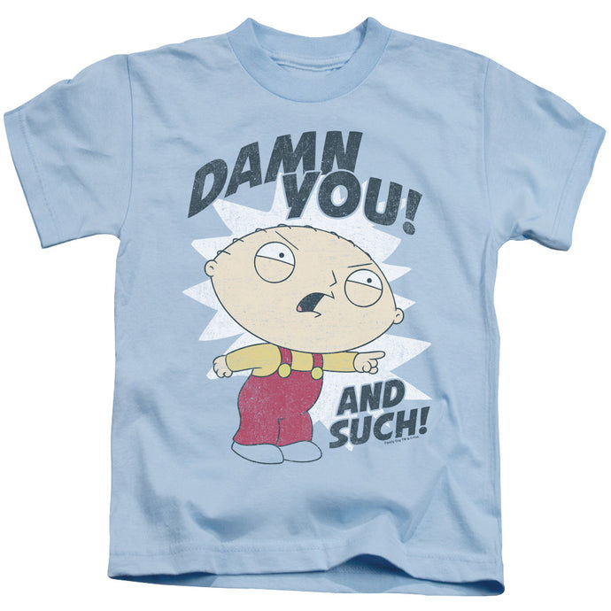 Family Guy - And Such Short Sleeve Juvenile 18/1 Tee - Special Holiday Gift