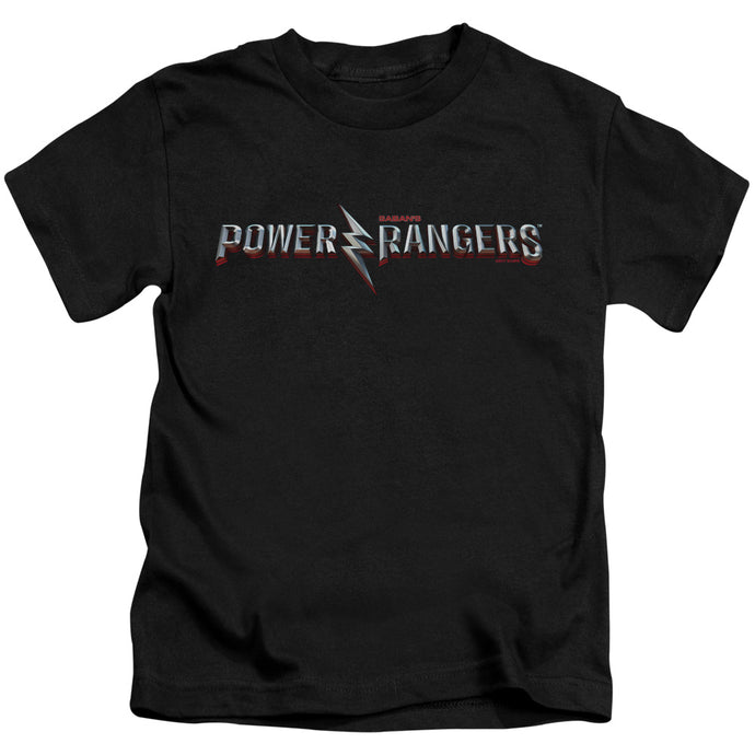 Power Rangers - Movie Logo Short Sleeve Juvenile 18/1 Tee - Special Holiday Gift