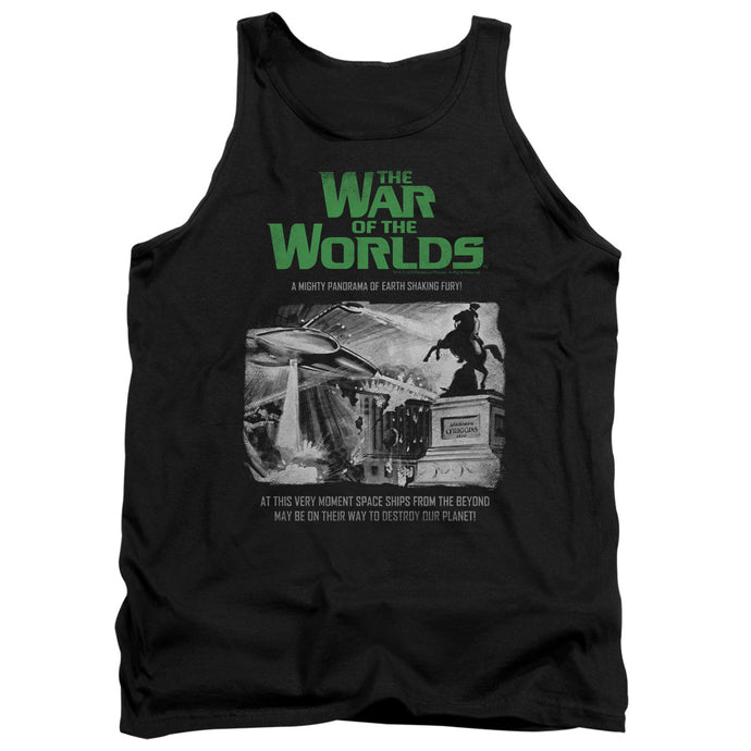 War Of The Worlds - Attack People Poster Adult Tank - Special Holiday Gift