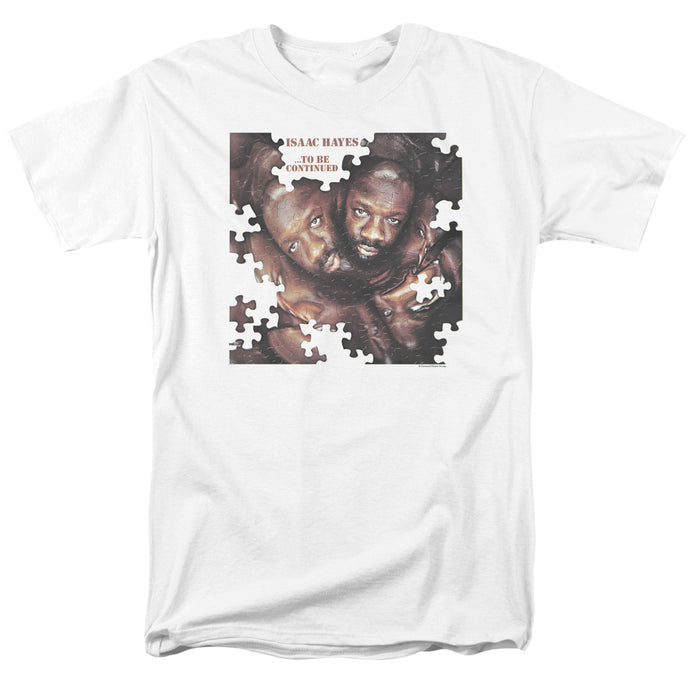 Isaac Hayes - To Be Continued Short Sleeve Adult 18/1 Tee - Special Holiday Gift
