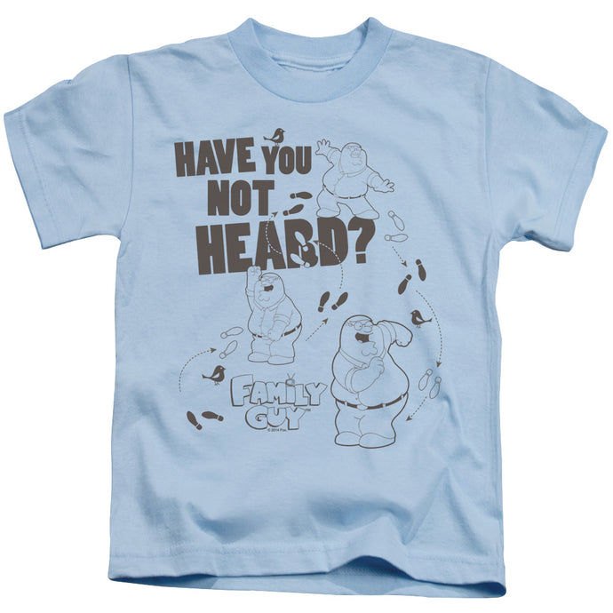 Family Guy - Not Heard Short Sleeve Juvenile 18/1 Tee - Special Holiday Gift