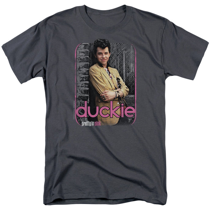 Pretty In Pink - Just Duckie Short Sleeve Adult 18/1 Tee - Special Holiday Gift
