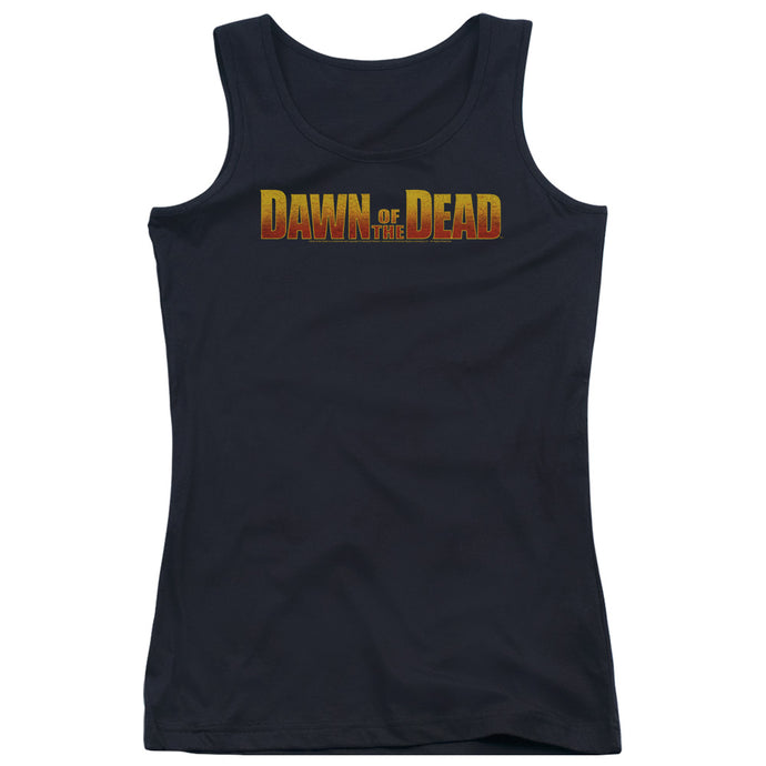 Dawn Of The Dead - Dawn Logo Juniors Tank Top - Special Holiday Gift