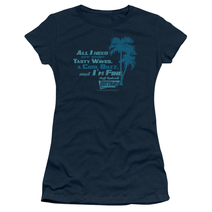 Fast Times Ridgemont High - All I Need Short Sleeve Junior Sheer - Special Holiday Gift