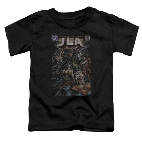 Jla - #1 Cover Short Sleeve Toddler Tee - Special Holiday Gift