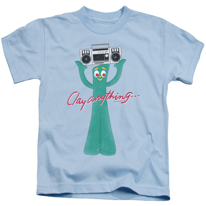 Gumby - Clay Anything Short Sleeve Juvenile 18/1 Tee - Special Holiday Gift