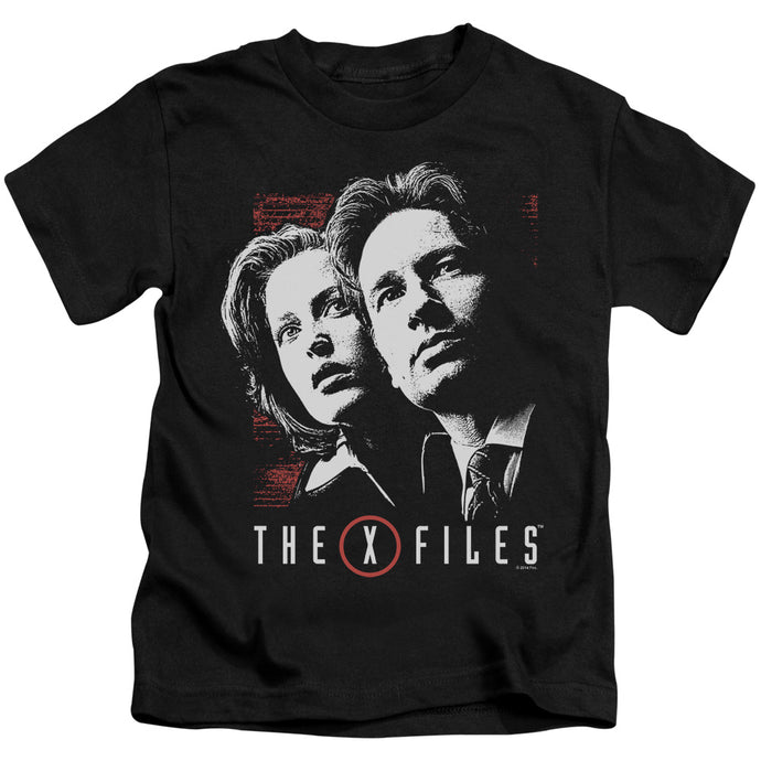 X Files - Mulder & Scully Short Sleeve Juvenile 18/1 Tee - Special Holiday Gift