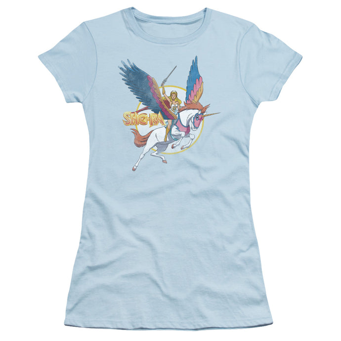 She Ra - And Swiftwind Short Sleeve Junior Sheer - Special Holiday Gift