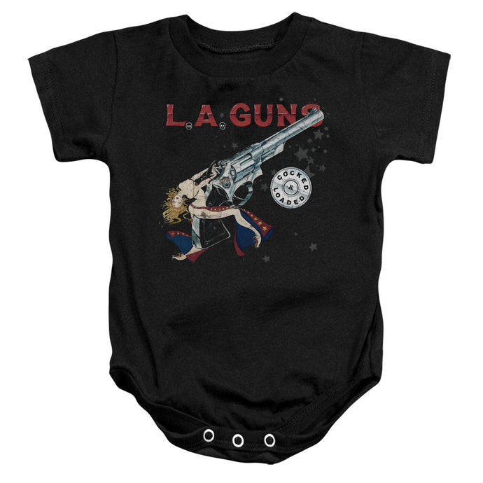 La Guns - Cocked And Loaded Infant Snapsuit - Special Holiday Gift