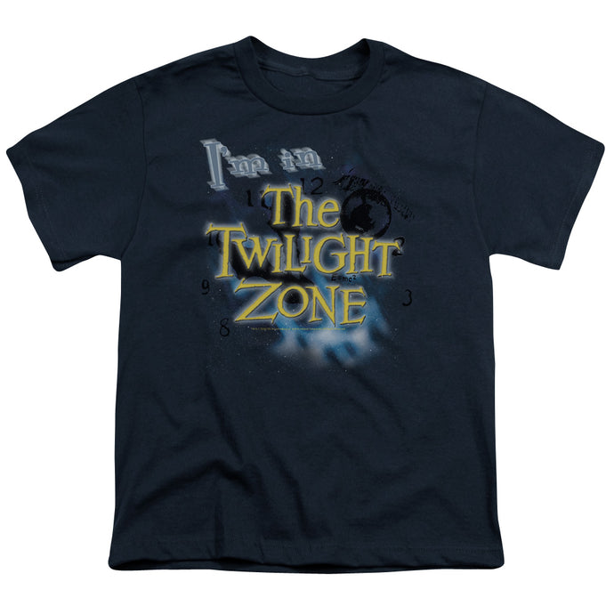 Twilight Zone - I'm In The Twilight Zone Short Sleeve Youth 18/1 Tee - Special Holiday Gift