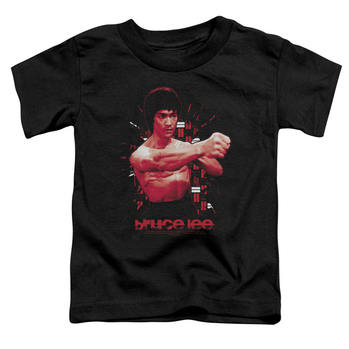 Bruce Lee - The Shattering Fist Short Sleeve Toddler Tee - Special Holiday Gift