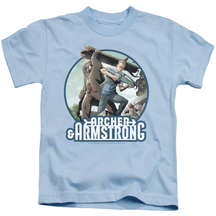 Archer & Armstrong - Trunk And Crossbow Short Sleeve Juvenile 18/1 Tee - Special Holiday Gift