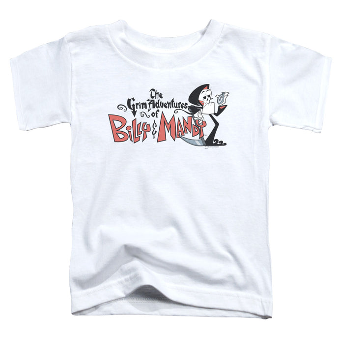 Billy & Mandy - Logo Short Sleeve Toddler Tee - Special Holiday Gift